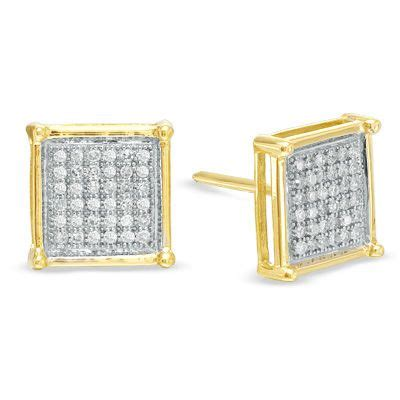 Square Earrings 46 best images about diamonds on white gold
