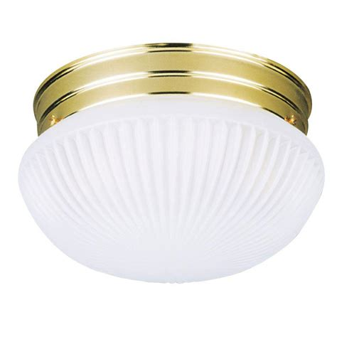 Ceiling Light Fixtures Flush Mount Westinghouse 1 Light Ceiling Fixture White Interior Flush Mount With White Glass Globe 6660700