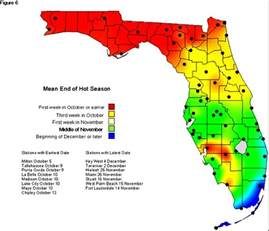 cool season starts in florida climate