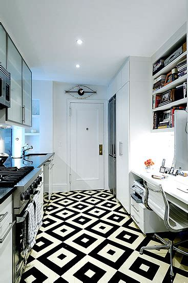 black and white tile kitchen floor graphic black and white floors frog hill designs