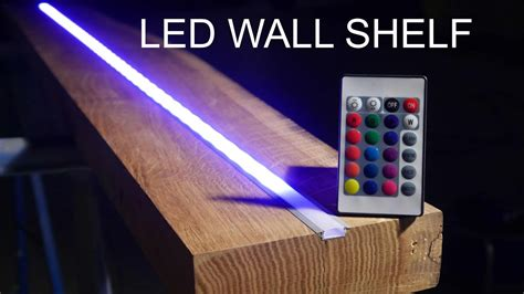 led beleuchtung regal diy wood shelf designer led regal anleitung