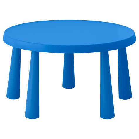ikea childrens table mammut children s table in outdoor blue 85 cm ikea