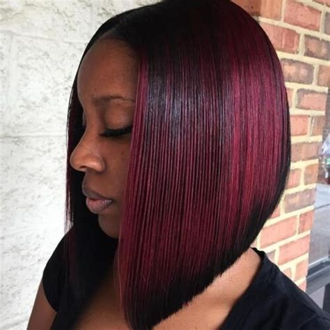 A Line Bob Hairstyle by 50 Sensational Bob Hairstyles For Black Hair