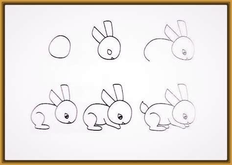 imagenes navideñas para dibujar paso a paso instrucciones de como dibujar un conejo facil para ni 241 os