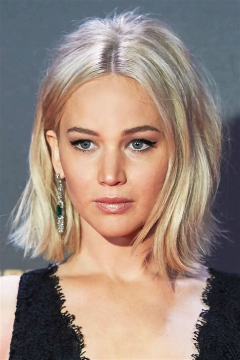 jennifer lawrence hair co or for two toned pixie this year s best celebrity hair transformations ash