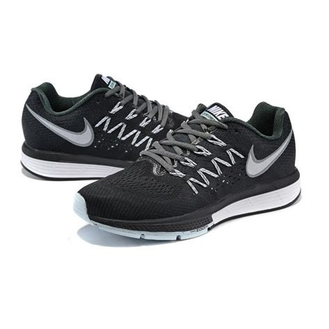 nike black athletic shoes nike air zoom vomero 10 womens running shoes black white