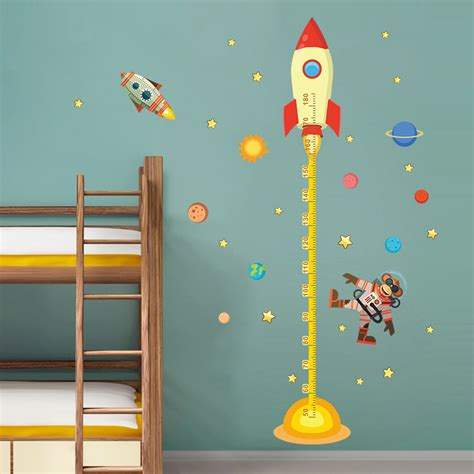 Home Design 3d Change Wall Height by Rocket Monkey Astronaut 3d Height Wall Stickers