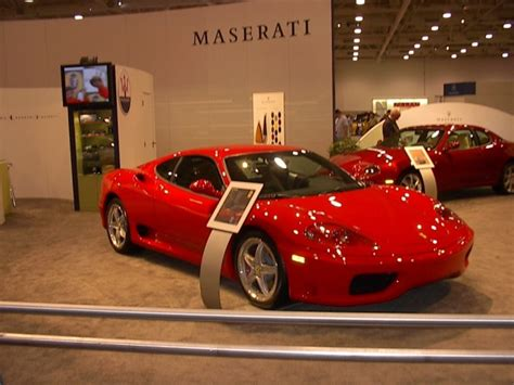 red maserati sedan red maserati dallas car show 2003 car pictures by