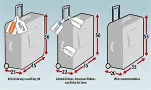 cabin baggage measurements lufthansa emirates and qatar airways set new bag size