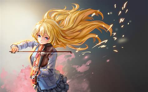 anime your lie in april your lie in april full hd wallpaper and background