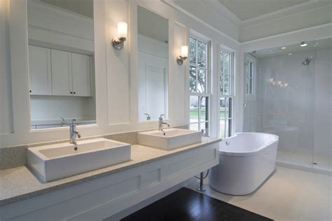 White Modern Bathrooms Completed Projects