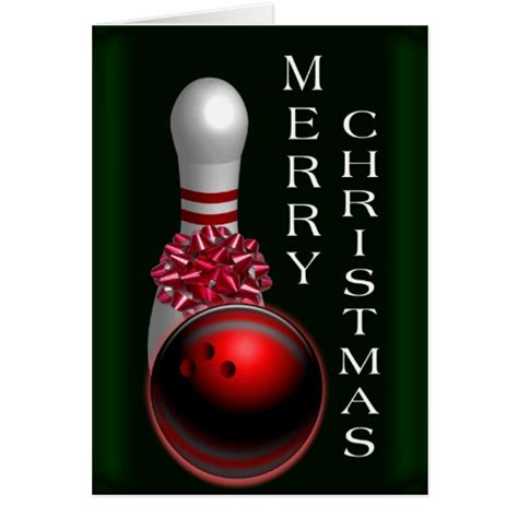 bowling christmas cards bowling christmas card templates