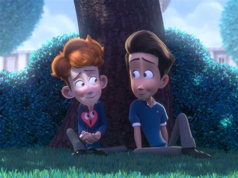 in a heartbeat this heartwarming animated is the cutest