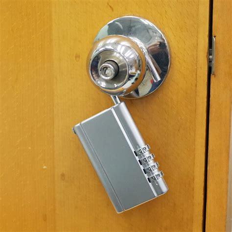 Combination Door Knob by Portable 4 Combination Security Door Knob Hanging