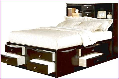 bed with bed underneath full size bed with storage full size bed with storage