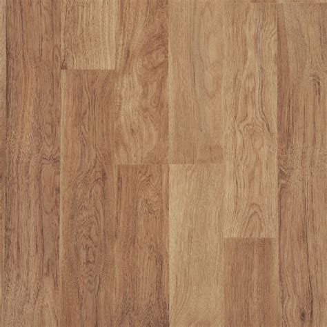 shop style selections 8 05 in w x 3 97 ft l ginger hickory smooth wood plank laminate flooring