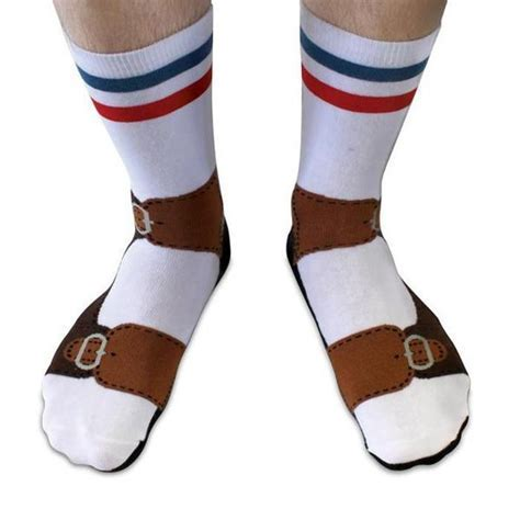 Sandals Socks: Socks That Look Like You're Wearing Sandals