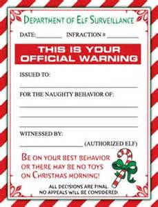 Naughty warning letter from santa pdf elf by thecrazychristmaself 3
