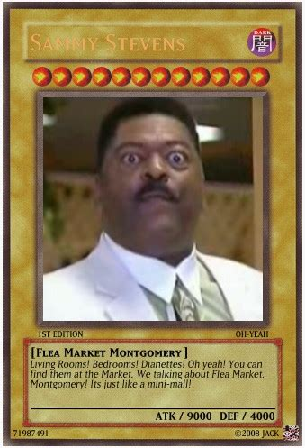 Yugioh Black Guy Meme - sammy stevens yu gi oh card by darkblueyoshi on deviantart