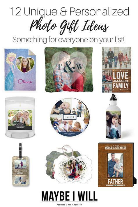 personalized gifts ideas 12 unique and personalized photo gift ideas maybe i will
