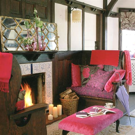 rich home decor living room 6 beautiful designs with fireplace interior
