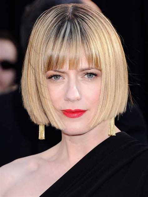blunt hair cuts with fringe blunt fringe hairstyles 2016 layered and bob fringes