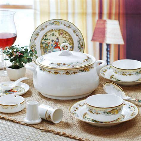fancy place setting fancy ceramic dinner set in jingdezhen jiangxi china
