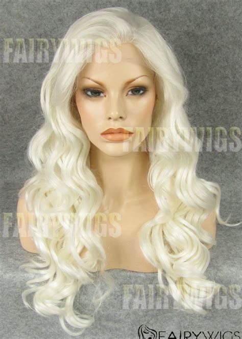 hair blonde front black back cheap long blonde female wavy lace front hair wig 22 inch