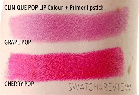 Guest Post Popping My Lipstick Cherry by Clinique Pop Lip Colour Primer Lipstick In Grape Pop And