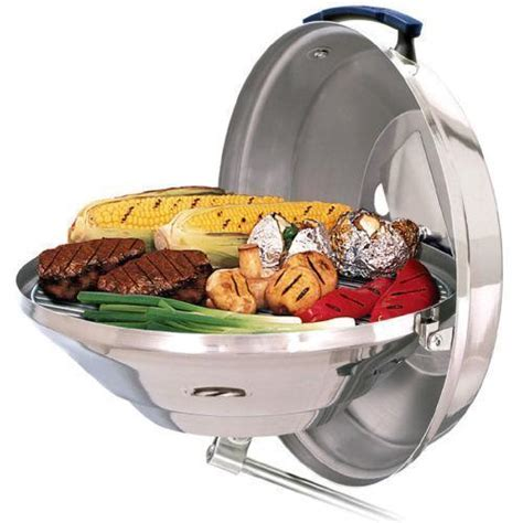 pontoon boat charcoal grill magma boat grill ebay