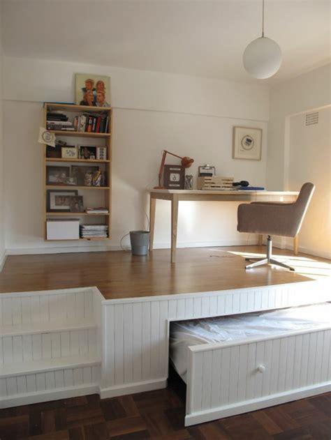 astuce d馗o chambre comment bien choisir un meuble gain de place en 50 photos