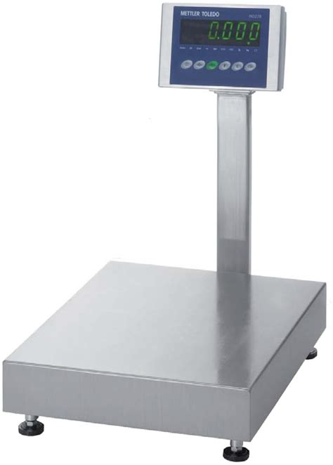 industrial bench scale mettler toledo bba236 stainless steel bench scale