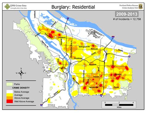 crime map portland oregon portland crime map my