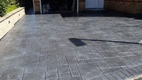 pattern concrete pattern imprinted concrete driveways wigan dhad