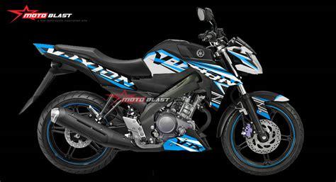 Striping Motor Vixion Advance 2016 Hitam motoblast modif striping yamaha r25 black black