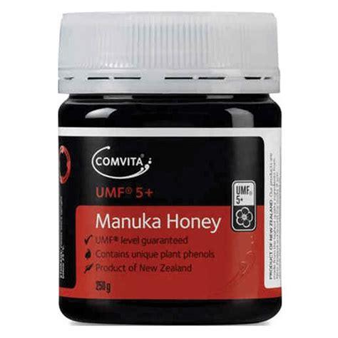 Comvita Manuka Honey Umf5 250gr comvita umf5 manuka honey 250g amcal