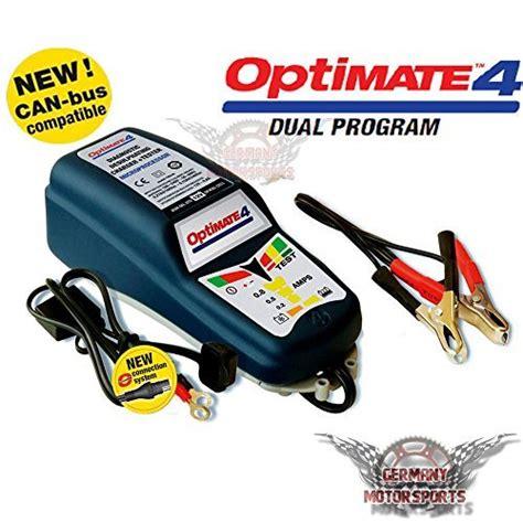 Motorrad Batterie Ladeger T Bmw by Optimate 4 Dual Can Motorrad Batterie Ladeger 196 T Bmw