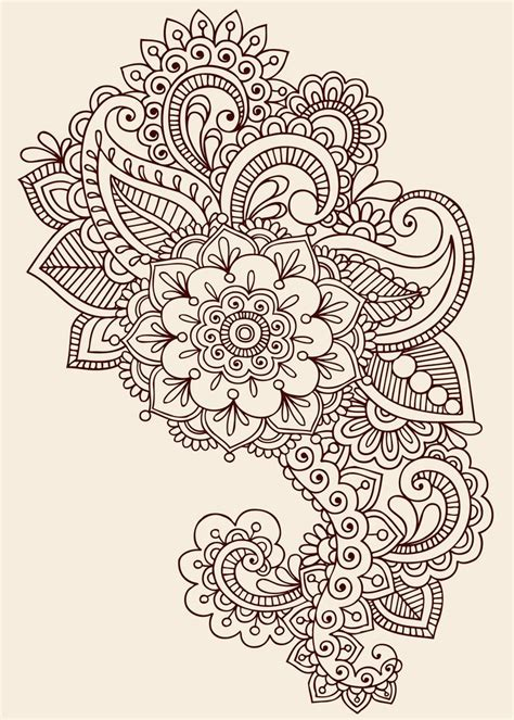 paisley pattern tattoo flowers paisley pattern tattoo design