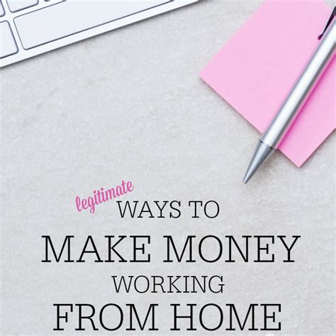 9 Legitimate Work From Home You Need To Try Work From Home Series Frugal Fanatic