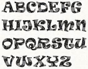 Free Letter Font Templates by Alphabet Ravie Font By Linleys Designs Sewing Pattern