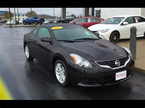 nissan altima coupe  full  start