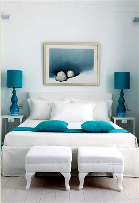 turquoise bedrooms blue and turquoise accents in bedroom designs 39 stylish