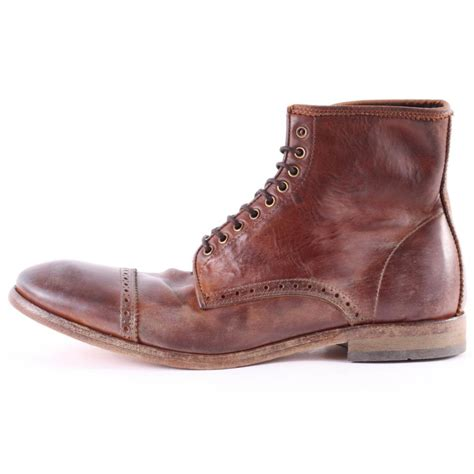 by hudson mens shoes h by hudson savin mens boots in tan