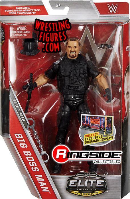 big bossman wwe elite  wwe toy wrestling action figure