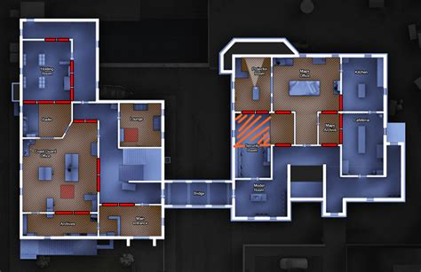 2nd Floor House Plan by Open Beta Game Guide Rainbow Six 174 Siege Game News