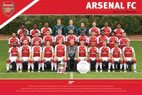 arsenal quiz 2017 arsenal london fc soccer poster print arsenal team