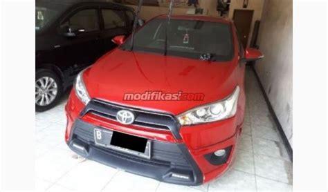 Accu Mobil Yaris 2014 toyota yaris trd sportivo merah met tgn 1 dari baru
