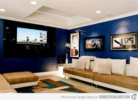 best color for media room 15 lovely living room designs with blue accents home