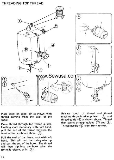 sewing machine diagram owner s manual for kenmore sewing machine help