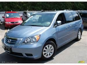 Blue Honda Odyssey 2008 Baltic Blue Pearl Honda Odyssey Ex L 50191212